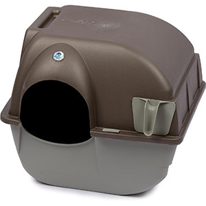 Omega Paws Self-Cleaning Litter Box