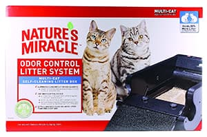 Nature's Miracle Nature's Miracle Multi-Cat Self-Cleaning Litter Box (NMA980)
