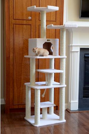 Armarkat B7801 Cat Tree - Ivory