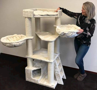 Cat Tree King Cat Tree for Large Cats
