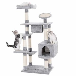 Songmics Large Cat Tree Condo Multi-Level Cat Tower